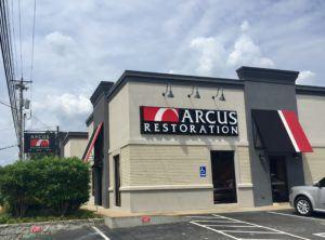 Arcus Restoration Sign