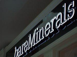 Bare Minerals Sign