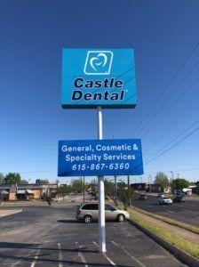 Castle Dental Sign