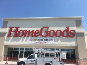 Home Goods Sign