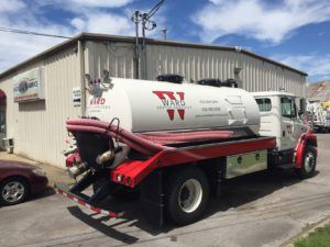 Ward Septic Services Truck