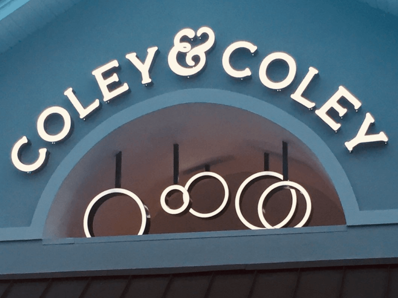 Coley & Coley Sign Lights